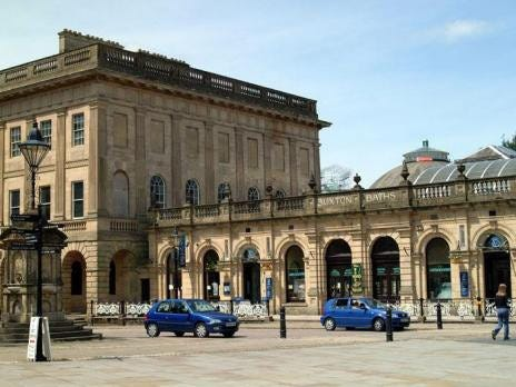 Buxton baths